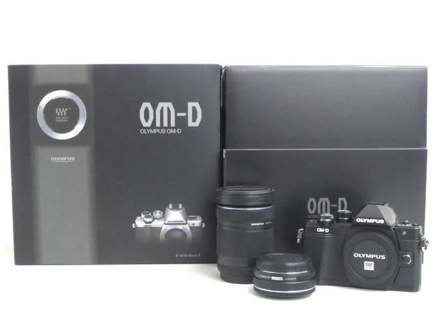【買取専門店よろずや駒川店】オリンパス OM-D E-M10 MarkⅡWレンズ カメラ