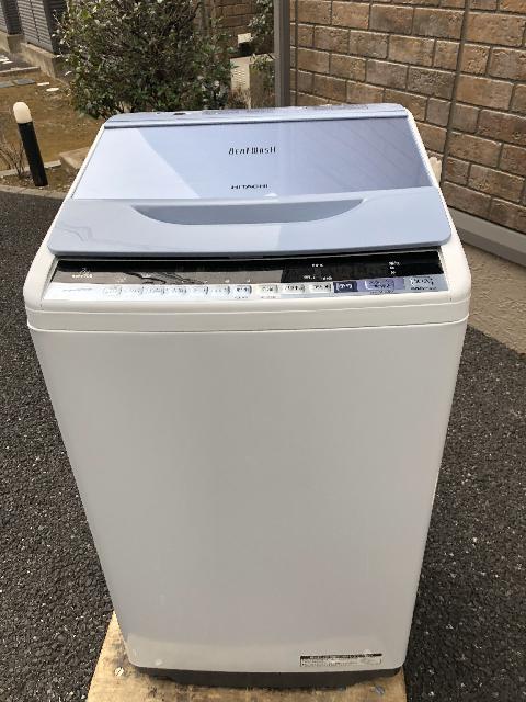 日立 洗濯機 BW-V70B 2017年製 市川市出張買取