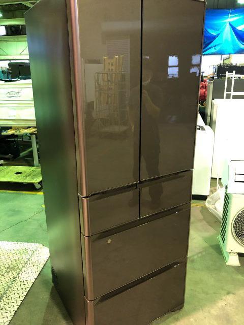 大型冷蔵庫出張買取 日立ノンフロン冷凍冷蔵庫 6ドア R-XG51J