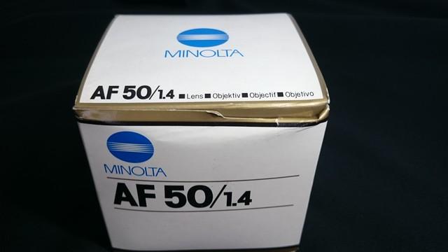 コニカミノルタ 50mm 1:1.4 カメラレンズ 50mm 1:4