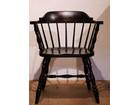 松本民芸/木製椅