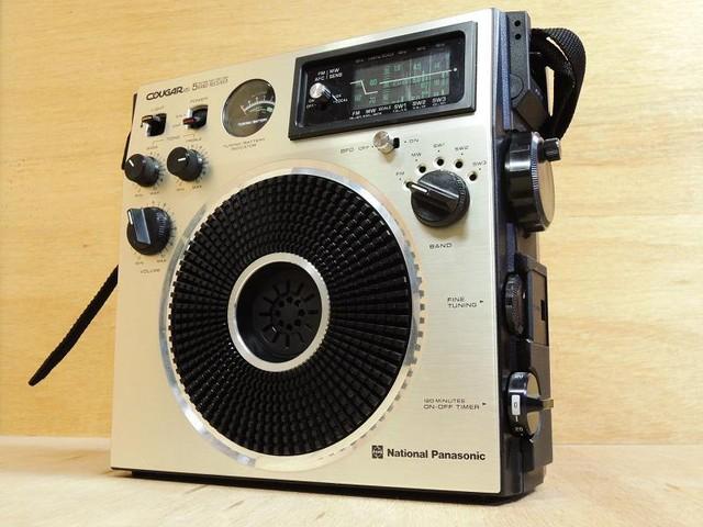 COUGAR BCL ラジオ