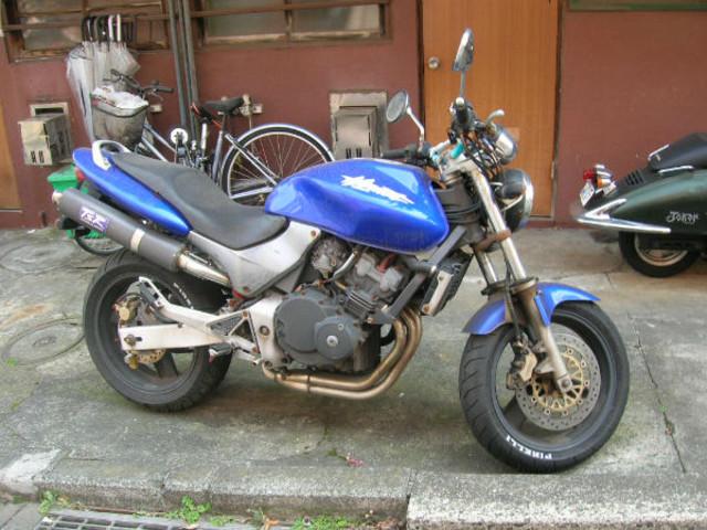 バイク無料回収(ホンダ・ホーネット)