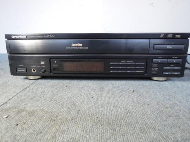 パイオニア LDプレーヤー CLD-100 レーザーディスク