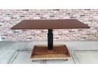 シギヤマ家具 木製 昇降式ダイニングテーブル…
