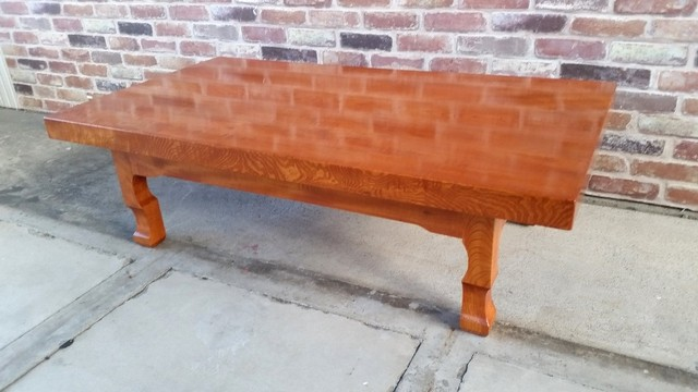 和風 天然木 欅無垢座卓 ローテーブル センターテーブル