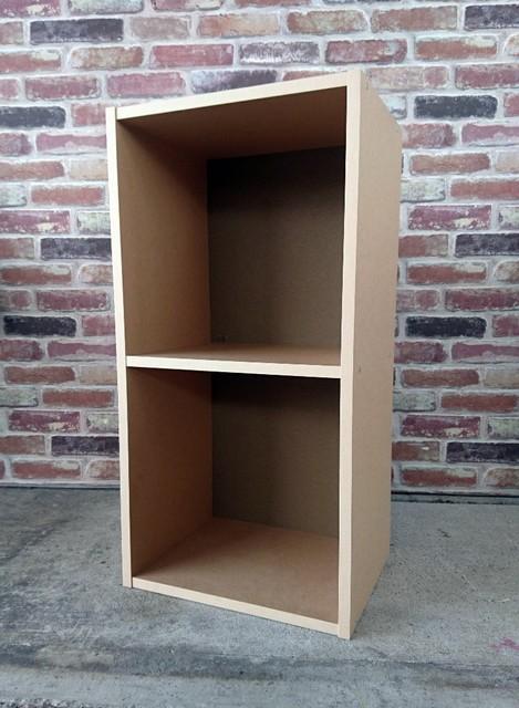 無印良品 A4 カラーボックス 2段 ベージュ パルプボード ボックス