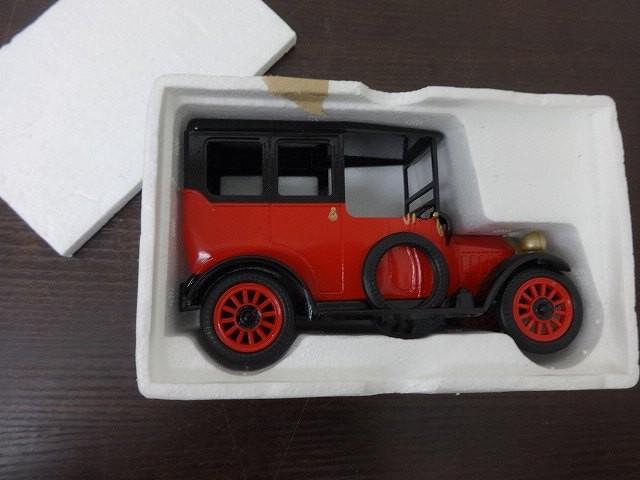 1917年三菱A型1号車 赤×黒 ミニ...