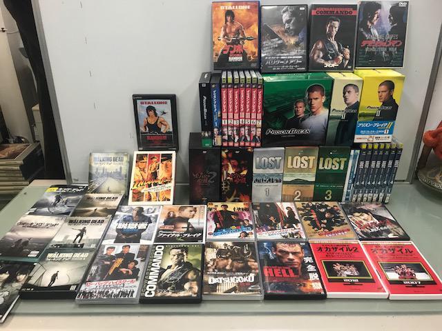 DVD 約100本