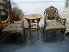 イタリア家具 Medea テーブル アームチェア アールヌーボー様式 を箕面市でスピード買取
