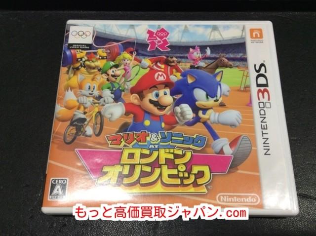3DS マリオ & ソニック AT ロンドン オリンピック 高く ゲーム ソフト 買取 千葉県松戸市