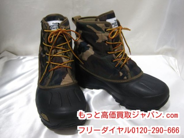 THE NORTH FACE スノーショット 高く ブーツ シューズ 買取 千葉県 柏市