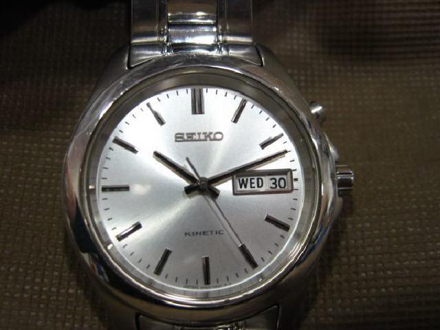 不動品 SEIKO KINETIC 腕時計 高く セイコー 故障品 買取 千葉県 柏市