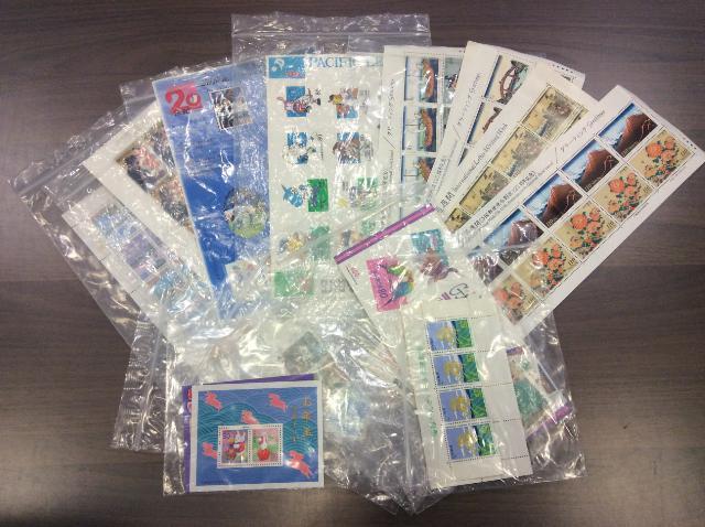 記念 切手 シート バラ 各種 17.023円分 高く 中国 切手 買取 千葉県 我孫子市