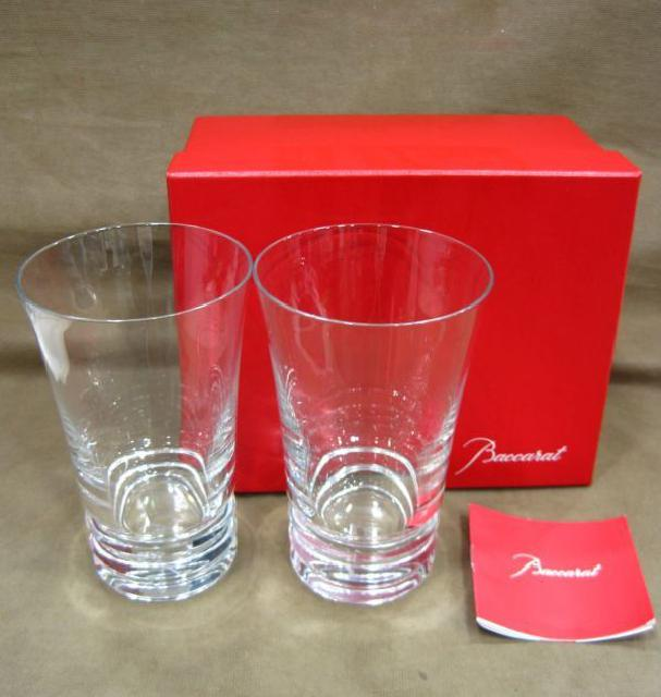 Baccarat バカラ ベガ ペアグラス 高く クリスタル ガラス製品 買取 埼玉県 三郷市