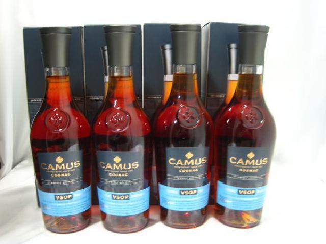 CAMUS カミュ VSOP 700ml 4本 ブランデー 高く お酒 古酒 買取 茨城県 龍ヶ崎市