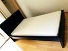 IKEA セミダブルベッド マットレスセット…