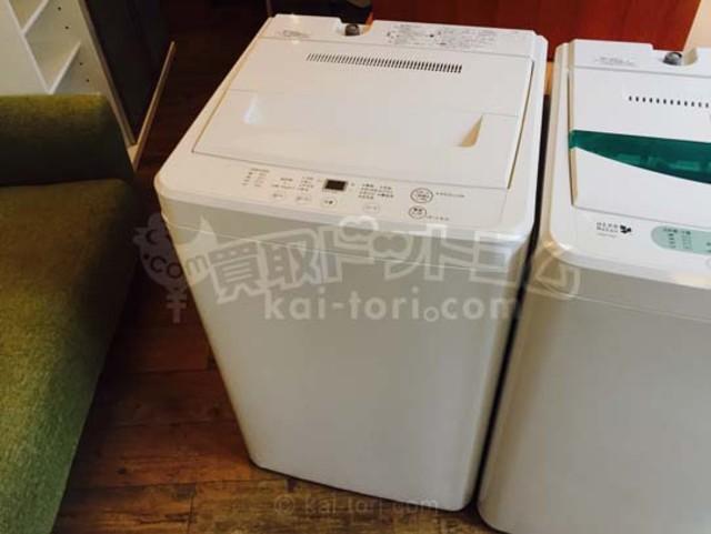 MUJI/無印良品 2016年製 洗濯機 4.5kg
