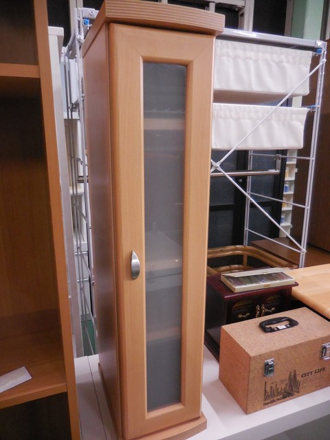 カントリー調 かわいいちび収納棚 机上の本棚 トイレットペーパーホルダーにも◎