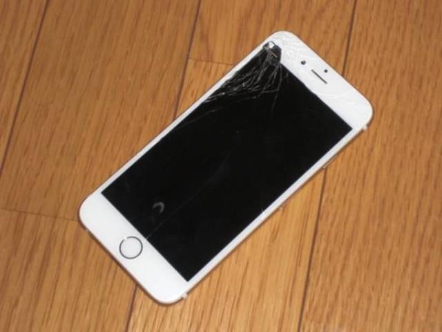 ジャンク Apple iPhone6 SoftBank A1586 64GB ゴールド 通電NG