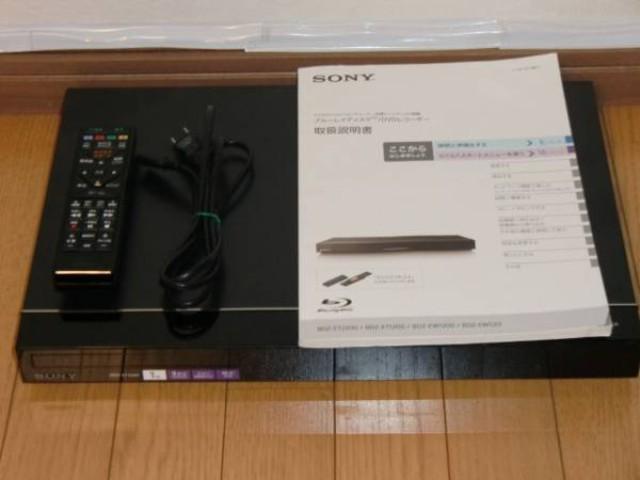 SONY ソニー ブルーレイディスクレコーダー BDZ-ET1200 2014年製 1TB