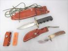 RANDALL ナイフ2本セット+未使用研ぎ…
