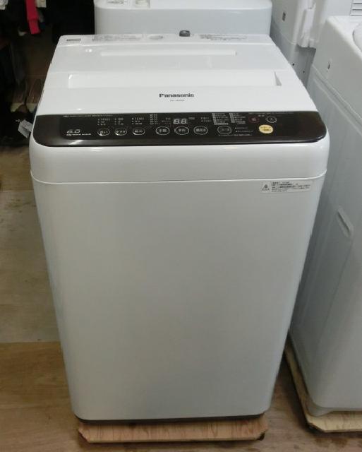 Panasonic 6.0kg 全自動洗濯機 NA-F60PB9 2016年製