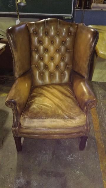ソファ 椅子 チェスター風