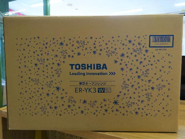 新品 TOSHIBA オーブンレンジ 2013年