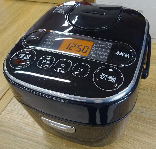 アイリスオーヤマ銘柄炊き 極厚銅釜 炊飯器 2020年