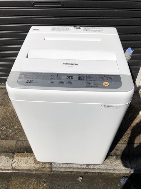 Panasonic全自動洗濯機5キロ