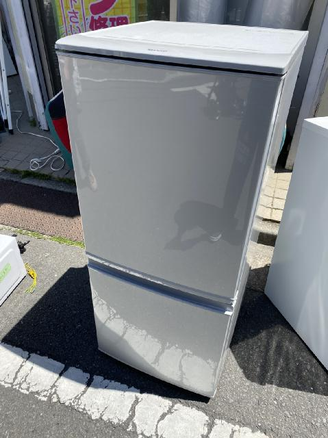 SHARP 冷蔵庫 137L SJ-D14B-S 2016年製