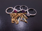 金プラチナ、ダイヤ、宝石