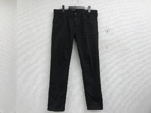 DSQUARED2/ディースクエアード 18AW CLEAN SLIMストレッチブラックデニムパンツ