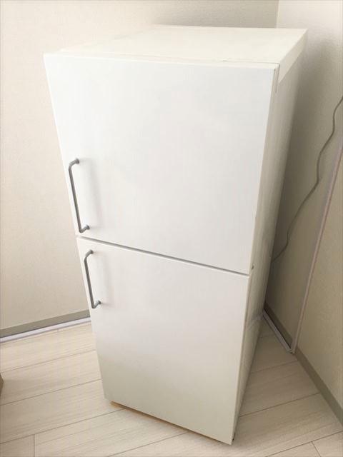 【無印良品 MUJI】アイアンバーハンドル 2ドア冷蔵庫 M-R14C 137L