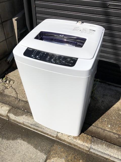 ハイアール全自動洗濯機4.2キロ
