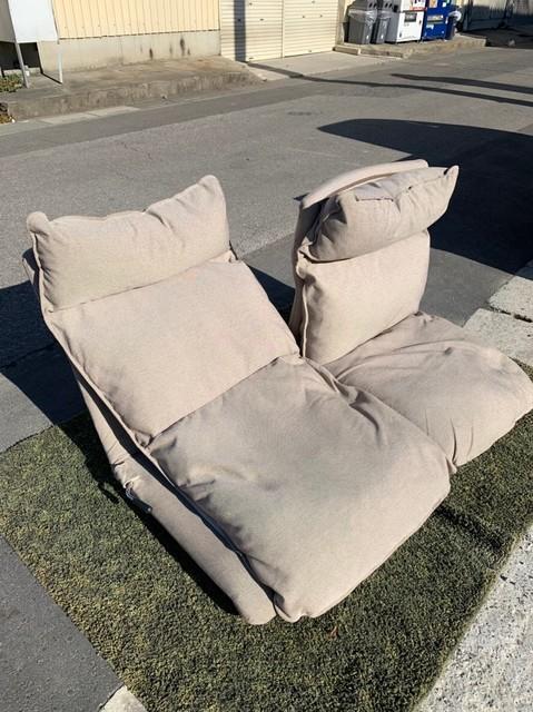 無印用品 リクライニングソファ