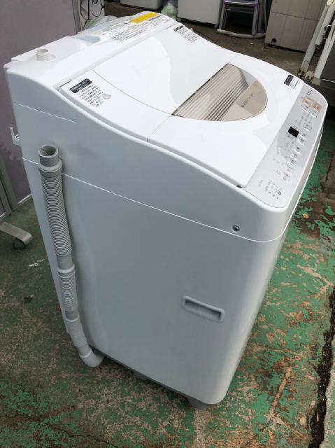 シャープ 洗濯乾燥機 2018年製