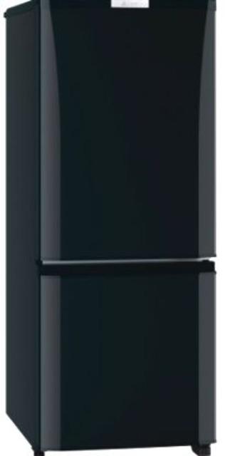 【東京都狛江市にて出張買取】三菱電機 冷蔵庫 146L 右開き 2ドア ブラック 冷蔵 冷凍 小型