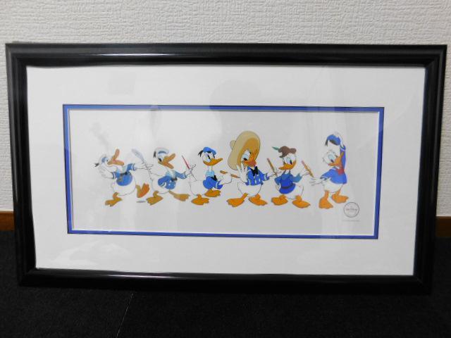 Disney Art Editions ディズニー ドナルドダック セル画