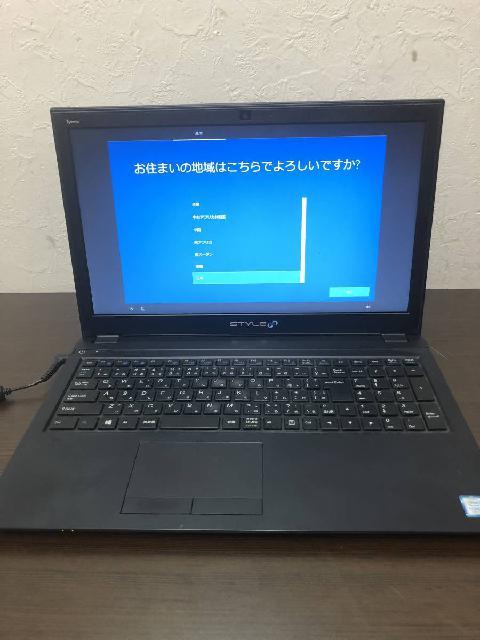 【中野区にて出張買取】PC ノートパソコン STYLE NOTEBOOK COMPUTER N750