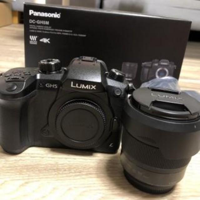 ミラーレス デジタル一眼カメラ Panasonic パナソニック LUMIX DC-GH5M