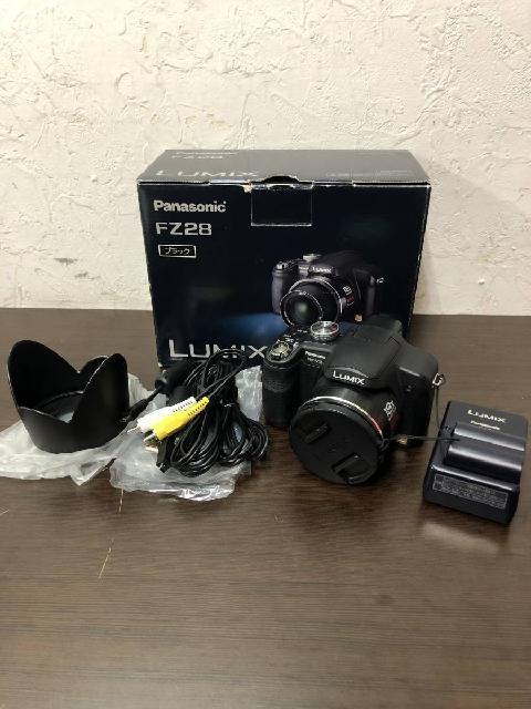 【稲城市にて出張買取】Panasonic LUMIX DMC-FZ28 ブラック パナソニック ルミ