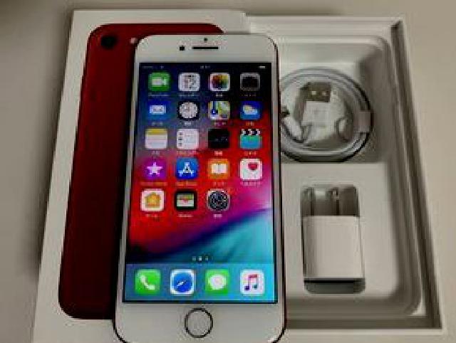 【葛飾区にて出張買取】SIMフリー iPhone7 128GB レッド 未使用付属品付