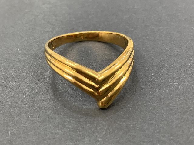 貴金属 K18 18金 リング 指輪