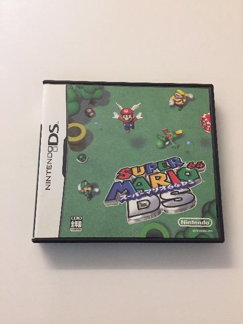 DS/ソフト/スーパーマリオ64 DS