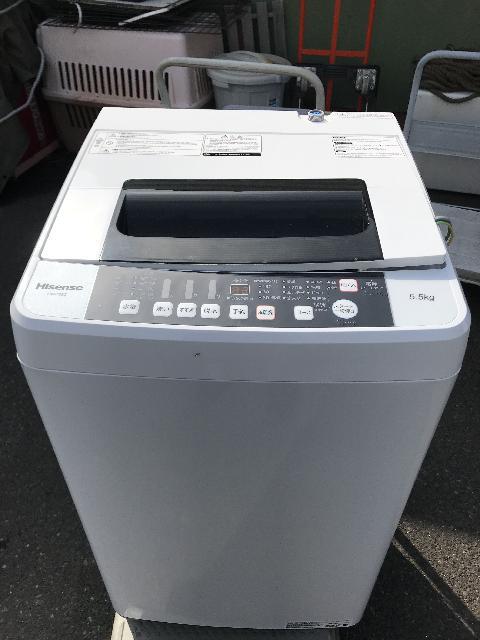 Hisense  洗濯機 HW-T55C  2019年製