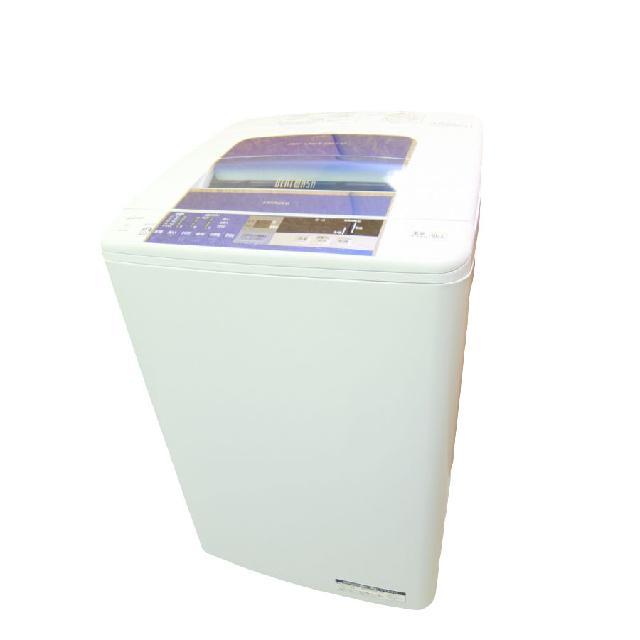 日立 洗濯機 白