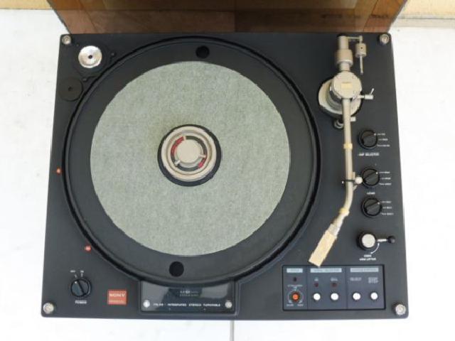 ソニー ターンテーブルシステム レコードプレーヤー
