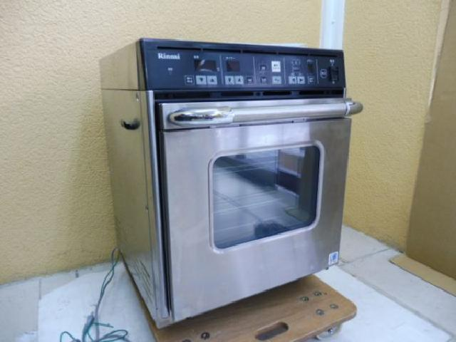 【群馬県出張買取】リンナイ 卓上ガス高速オーブン 不要品買取【厨房機器買取】